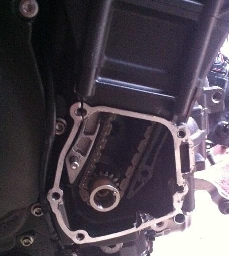 motorcycle engine crack repair