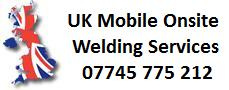 Mobile onsite coded welding services UK
