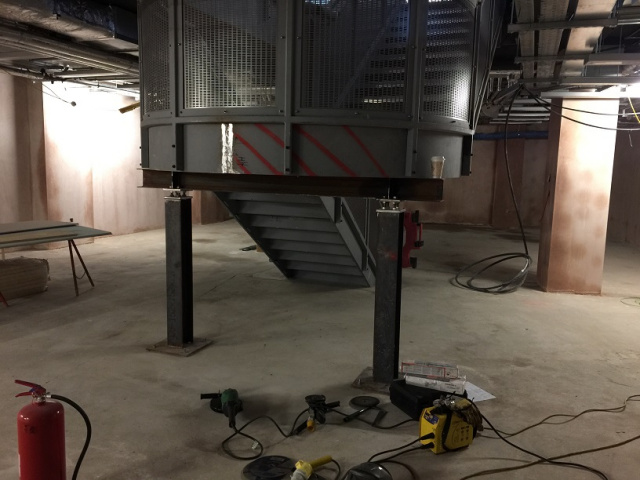 London university structural coded staircase welding repair